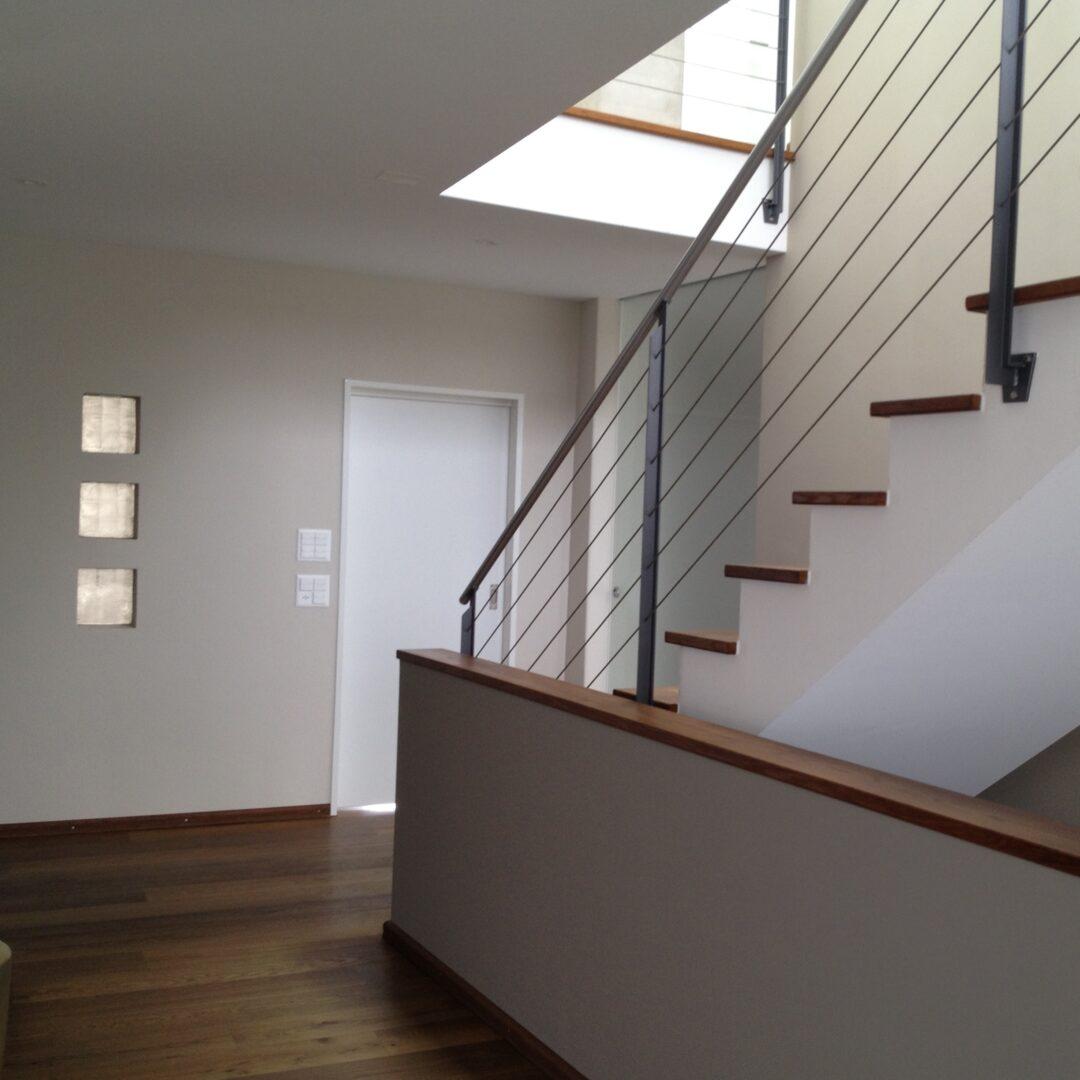 Farbgestaltung im Eingangsbereich